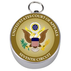 Seal Of United States Court Of Appeals For Seventh Circuit Silver Compasses by abbeyz71