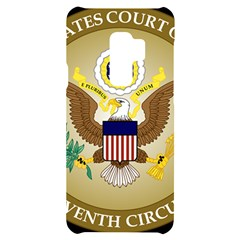 Seal Of United States Court Of Appeals For Seventh Circuit Samsung S9 Plus Black Uv Print Case by abbeyz71