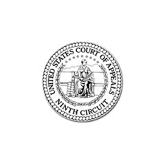 Seal Of United States Court Of Appeals For Ninth Circuit Golf Ball Marker (4 Pack) by abbeyz71