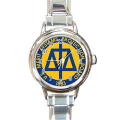 Seal Of United States Merit Systems Protection Board Round Italian Charm Watch by abbeyz71