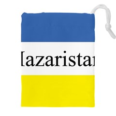 Flag Of Hazaristan Drawstring Pouch (xxxl) by abbeyz71