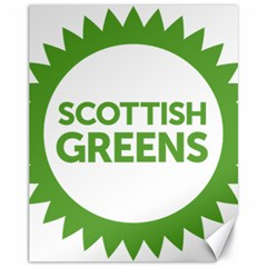 Logo Of Scottish Green Party Canvas 11  X 14  by abbeyz71