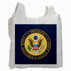 Flag Of The Executive Office Of The President Of The United States Recycle Bag (one Side) by abbeyz71