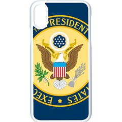 Flag Of The Executive Office Of The President Of The United States Iphone Xs Seamless Case (white)
