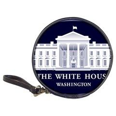 Logo Of The White House  Classic 20-cd Wallets by abbeyz71