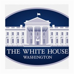 Logo Of The White House  Medium Glasses Cloth (2 Sides) by abbeyz71