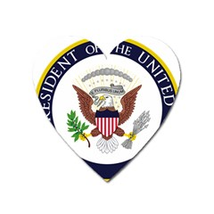 Seal Of Vice President Of The United States Heart Magnet by abbeyz71