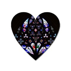 Arcelona Cathedral Spain Heart Magnet by Simbadda