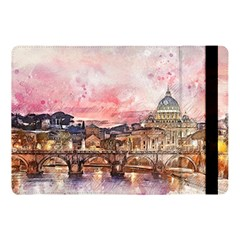 City Buildings Bridge Water River Apple Ipad Pro 10 5   Flip Case by Simbadda