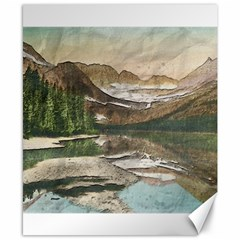 Glacier National Park Scenic View Canvas 8  X 10  by Simbadda