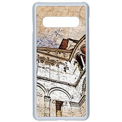 Building Architecture Columns Samsung Galaxy S10 Seamless Case(white)