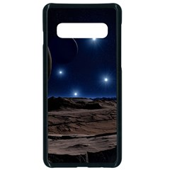 Lunar Landscape Star Brown Dwarf Samsung Galaxy S10 Seamless Case(black)