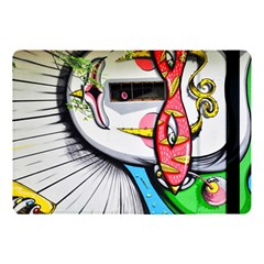 Clown Murals Figure Wall Human Apple Ipad Pro 10 5   Flip Case by Simbadda