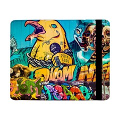 Graffiti Street Art Mountains Wall Samsung Galaxy Tab Pro 8 4  Flip Case