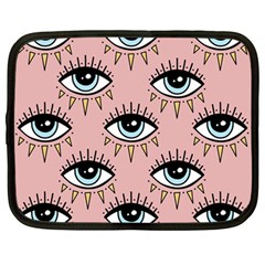Eyes Pattern Netbook Case (large)