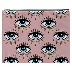 Eyes Pattern Cosmetic Bag (xxxl)