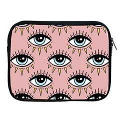 Eyes Pattern Apple Ipad 2/3/4 Zipper Cases