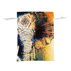 Indian Elephant Lightweight Drawstring Pouch (s)