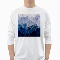 Blue Ocean Long Sleeve T Shirt by goljakoff