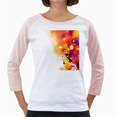 Autumn Paint Girly Raglan