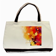 Autumn Paint Basic Tote Bag