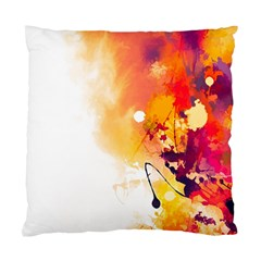 Autumn Paint Standard Cushion Case (two Sides)