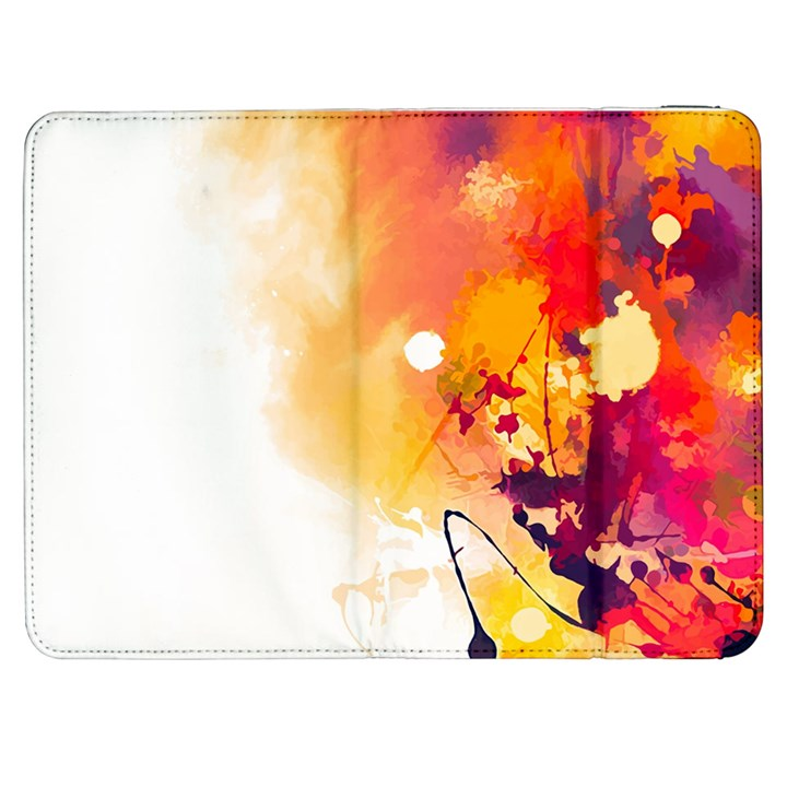 Autumn paint Samsung Galaxy Tab 7  P1000 Flip Case