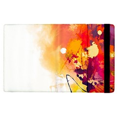 Autumn Paint Apple Ipad Pro 9 7   Flip Case