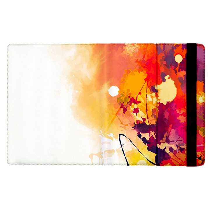Autumn paint Apple iPad Pro 9.7   Flip Case