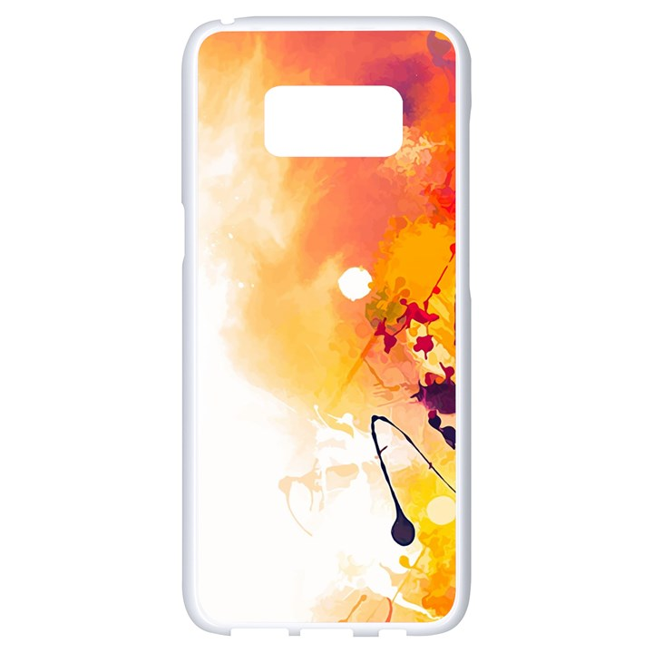 Autumn paint Samsung Galaxy S8 White Seamless Case