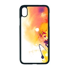Autumn Paint Iphone Xr Seamless Case (black)