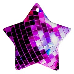 Purple Disco Ball Ornament (star) by essentialimage