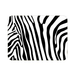 Vector Zebra Stripes Seamless Pattern Double Sided Flano Blanket (mini)  by Vaneshart