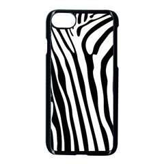 Vector Zebra Stripes Seamless Pattern Iphone 7 Seamless Case (black) by Vaneshart