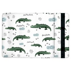 Vector Seamless Pattern With Cute Crocodiles Ipad Air Flip by Vaneshart