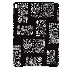 Vector Pattern Design With Tribal Elements Apple Ipad Pro 10 5   Black Uv Print Case