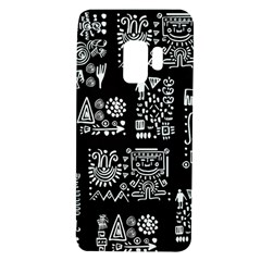 Vector Pattern Design With Tribal Elements Samsung Galaxy S9 Tpu Uv Case by Vaneshart