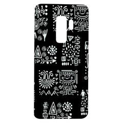 Vector Pattern Design With Tribal Elements Samsung Galaxy S9 Plus Tpu Uv Case