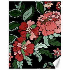 Beautiful Floral Vector Seamless Pattern Canvas 18  X 24