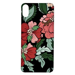 Beautiful Floral Vector Seamless Pattern Iphone X/xs Soft Bumper Uv Case by Vaneshart