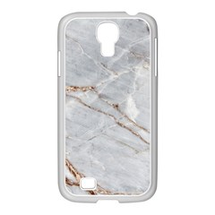 Gray Light Marble Stone Texture Background Samsung Galaxy S4 I9500/ I9505 Case (white)