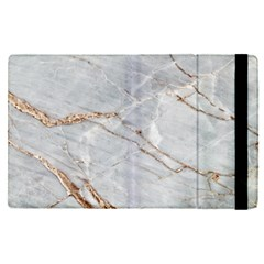 Gray Light Marble Stone Texture Background Apple Ipad Pro 9 7   Flip Case by Vaneshart