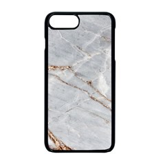 Gray Light Marble Stone Texture Background Iphone 8 Plus Seamless Case (black) by Vaneshart