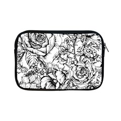 Vintage Floral Vector Seamless Pattern With Roses Apple Ipad Mini Zipper Cases by Vaneshart