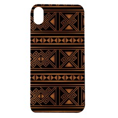 Colorful Bright Ethnic Seamless Striped Pattern Background Orange Black Colors Apple Iphone Xr Tpu Uv Case