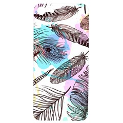 Hand Drawn Feathers Seamless Pattern Iphone 7/8 Soft Bumper Uv Case