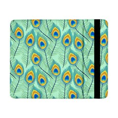 Lovely Peacock Feather Pattern With Flat Design Samsung Galaxy Tab Pro 8 4  Flip Case