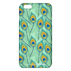 Lovely Peacock Feather Pattern With Flat Design Iphone 6 Plus/6s Plus Tpu Case