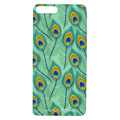 Lovely Peacock Feather Pattern With Flat Design Apple Iphone 7/8 Plus Tpu Uv Case