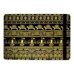 Tribal Gold Seamless Pattern With Mexican Texture Samsung Galaxy Tab Pro 10 1  Flip Case